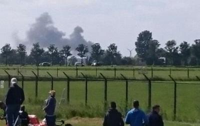 В Нидерландах разбился швейцарский истребитель