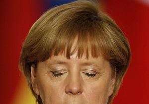 Меркель оговорилась, называя имя президента Франции
