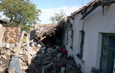 Обстрел Торецка на Донбассе: фото последствий
