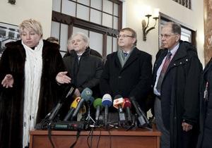В Госпенитанциарной службе опровергли заявление канадского врача об истории болезни Тимошенко
