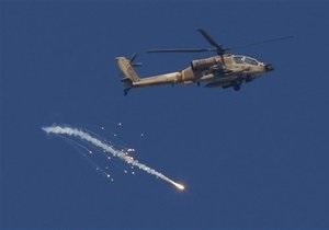 ВВС Израиля нанесли удар по сектору Газа в ответ на палестинский обстрел