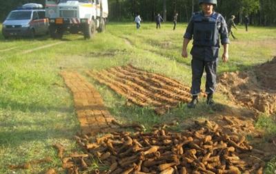 Арсенал боєприпасів часів Другої світової знайшли в Сумській області