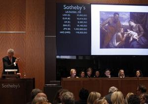 Картина Тициана продана на аукционе за рекордные $16,8 млн