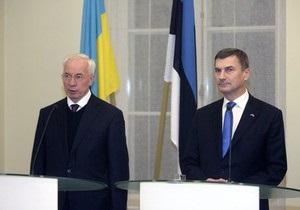 Эстония за свободную торговлю Евросоюза и Украины - Ансип