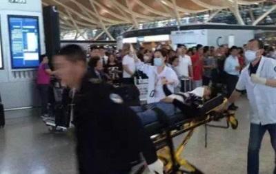 В аэропорту Шанхая прогремел взрыв