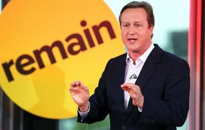 Кэмерон вновь предупредил о последствиях выхода из ЕС