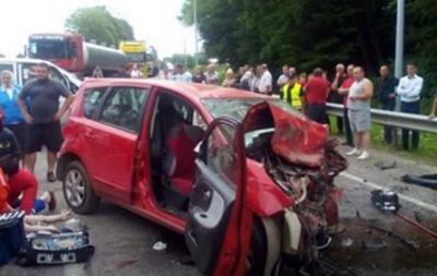 Выросло число жертв аварии с участием беременной под Львовом