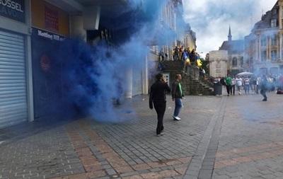 Нападение на украинских фанатов: двое пострадавших