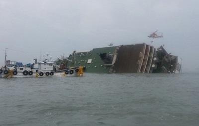 В Южной Корее начали поднимать затонувший паром Севол