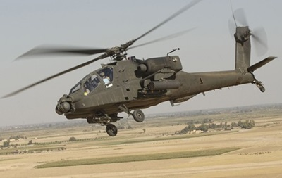 США вперше застосували вертоліт Apache проти ІД