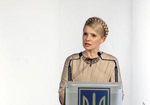 Тимошенко считает всех конкурентов техническими кандидатами Януковича