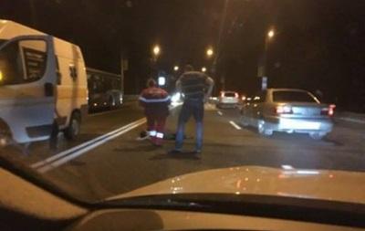 В Харькове полицейский сбил пьяного мужчину