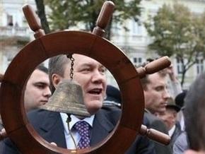 Янукович: Когда оранжевый туман прошел, мы видим руины нашей страны