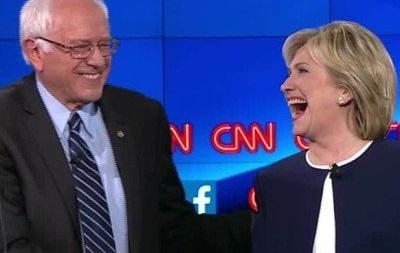 Сандерс пообещал Клинтон поддержку на выборах