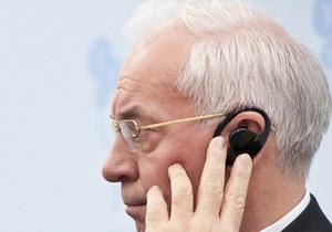 Азаров: Заявления оппозиции о срыве выборов лопнули, как мыльный пузырь