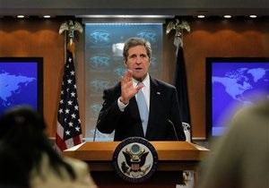 Госсекретарь США надеется, что украинские власти прекратят преследование Тимошенко