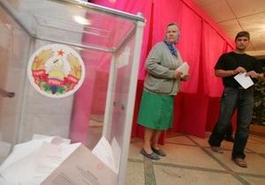 В Приднестровье проходит второй тур президентских выборов