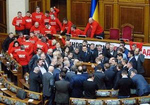 Оппозиция передала Рыбаку ультиматум о регламенте Рады
