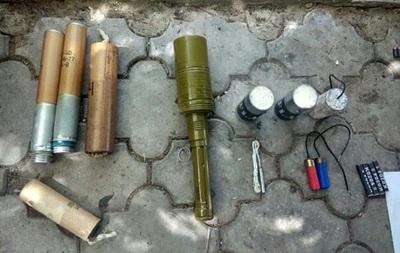 В Одеській області виявлено арсенал боєприпасів
