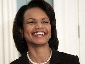 Райс рассказала об успехах Буша на посту президента США