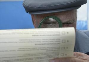 В Крыму в милицию поступило 175 сообщений о нарушениях во время избирательной кампании