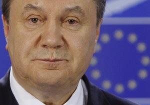 Янукович: Мы видим Европейский союз как наш общий дом