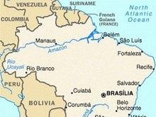 У берегов Бразилии произошло сильное землетрясение