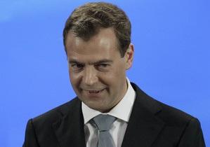 Медведев призвал украинцев беречь свое правительство