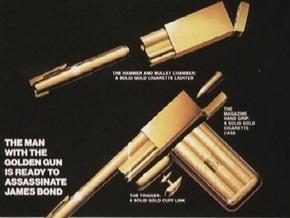 Похищен знаменитый золотой пистолет соперника Джеймса Бонда