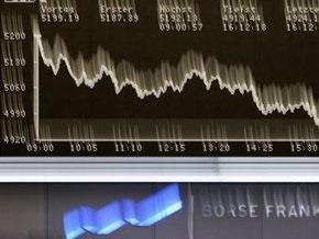 Европейские биржи упали на 7-8%