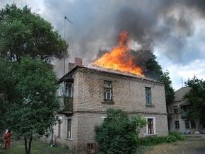 В Луганской области двое детей подожгли 23 квартиры