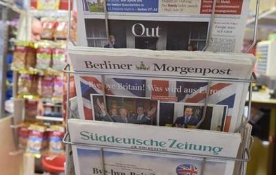 Германия: ЕС не будет уговаривать Британию остаться