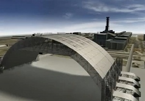 Украина начала строительство нового укрытия на ЧАЭС