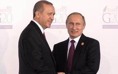 Турецкие СМИ о письме Эрдогана Путину: разворот на 180 градусов