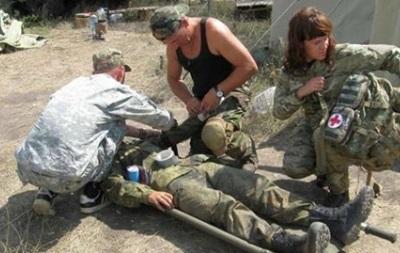 В зоне АТО ранены четверо военных