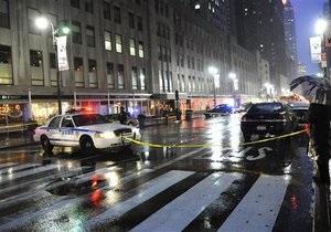 В Нью-Йорке самоубийца выжил после падения с 39-го этажа