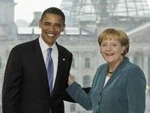Обама познакомился с Меркель. Без инцидента не обошлось