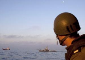 В Греции перехватили судно, направлявшееся в сектор Газа