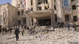 Повстанцы взяли ответственность за взрывы в Сирии