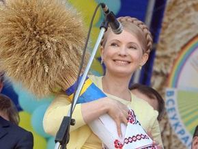 Тимошенко: Урожай-2009 будет больше прошлогоднего