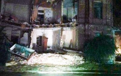 В Ростове обрушился двухэтажный дом после ливня