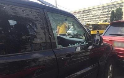 В полиции рассказали о покушении в центре Киева