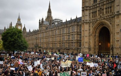 В Лондоне собираются на протест против Brexit