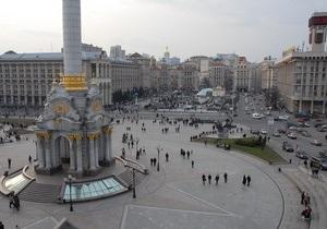 В центре Киева в связи с торжественными мероприятиями усилены меры безопасности
