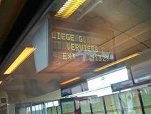 В Бельгии проходит забастовка железнодорожников