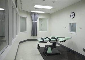В США приведена в исполнение первая казнь в 2011 году