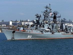 Корабль ВМФ России случайно обстрелял поселок