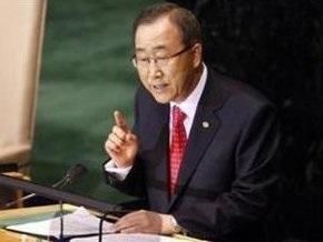 Генсек ООН направил спецпосланников  в Африку для содействия урегулированию конфликта