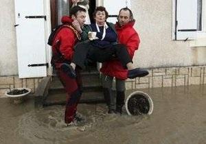 На Францию обрушился шторм. Есть погибшие, миллион домов остался без электроснабжения
