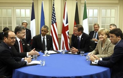Украину позвали на встречу Большой пятерки